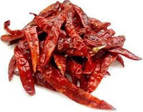 Red Whole Dried Chillies - 100g