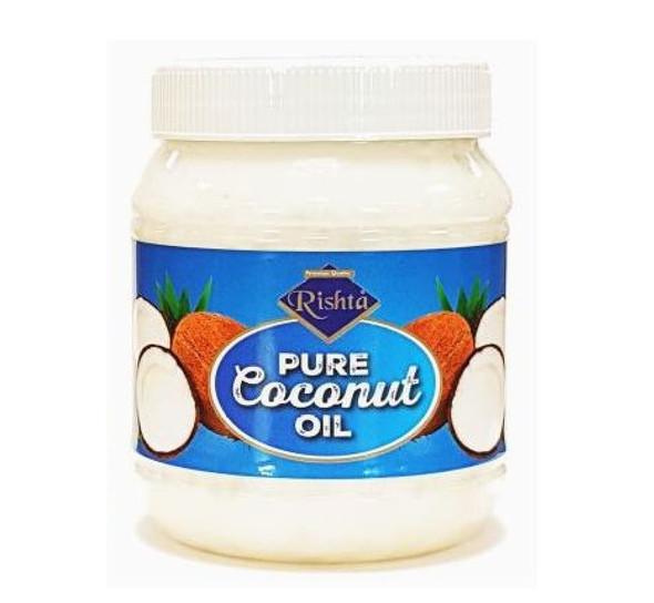 Rishta - Pure Edible Coconut Oil - 500ml (Pack of 6)