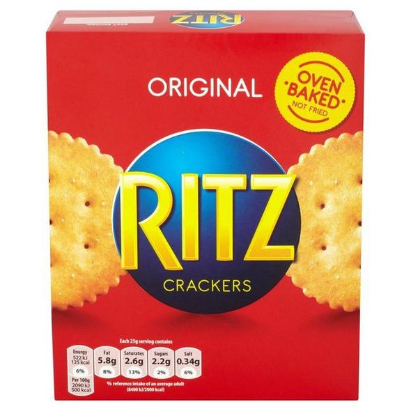 Ritz Orignal Crackers - 200g - Pack of 4 (200g x 4)