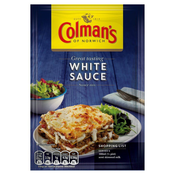 Colman's White Sauce Mix - 25g - Pack of 2 (25g x 2)