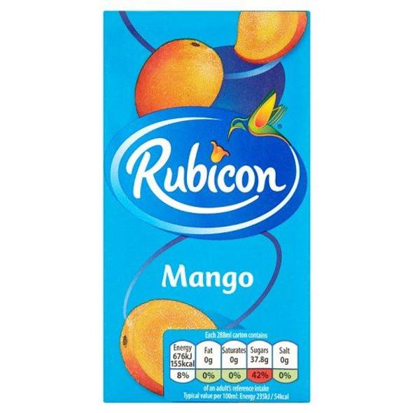 Rubicon Mango - 288ml - Pack of 3 (288ml x 3)