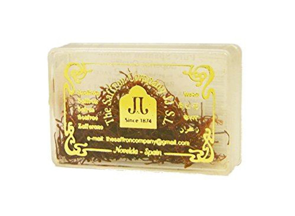 Saffron Pure Spanish 1g (Azafran) Pack of 4