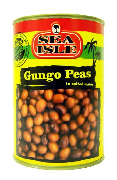 Sea Isle - Gungo Peas in Salted Water - 400g (pack of 4)