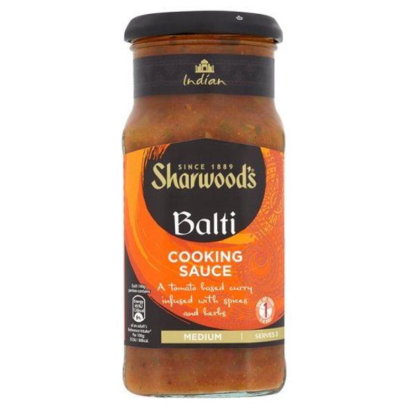 Sharwoods Balti Cooking Sauce - 420g - Single Jar (420g x 1 Jar)