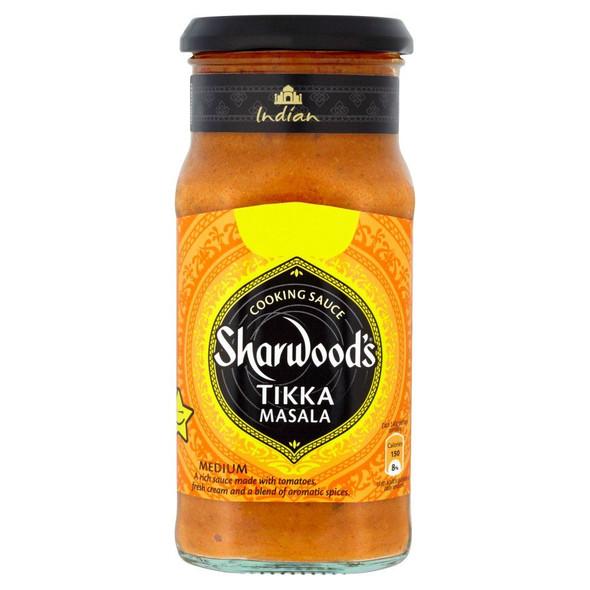 Sharwoods Tikka Masala Cooking Sauce - 420g - Single Jar (420g x 1 Jar)