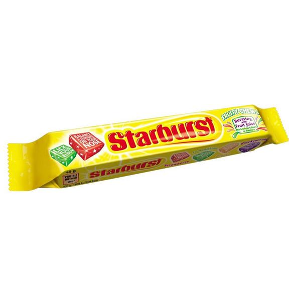 Starburst Original Fruity Chews - 45g - Pack of 3 (45g x 3)