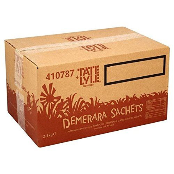 Tate & Lyle Demerara Sugar Sachets Pack of 1000 -approx 1000 sachets