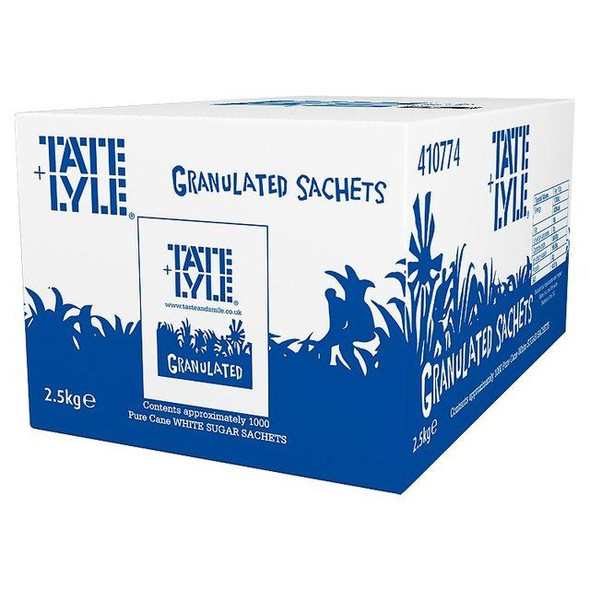 Tate & Lyle Sugar Sachets Pack of 1000 -approx 1000 sachets
