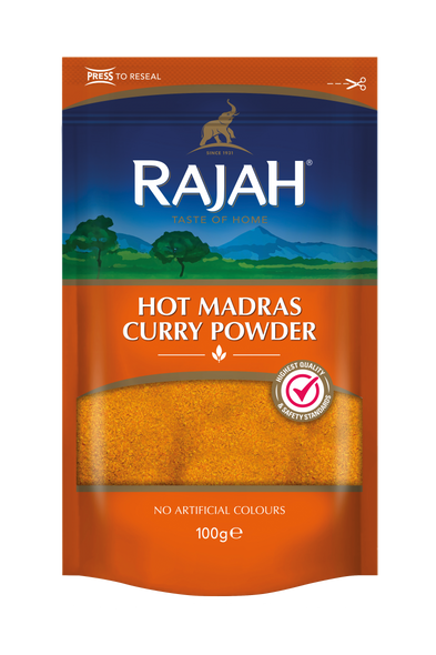 Rajah - Hot Madras Curry Powder - 100g