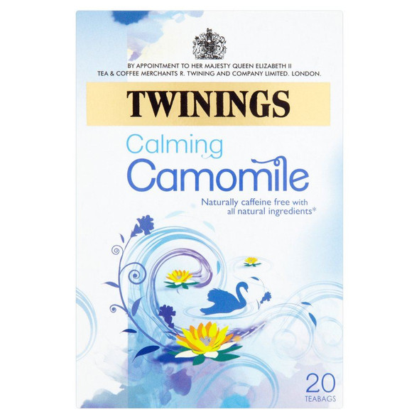 Twinings Herbal Camomile Tea - 20's - Pack of 4 (20's x 4)