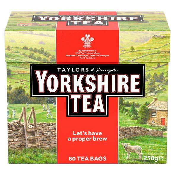 Yorkshire Tea - 80's - Pack of 4 (80's x 4)