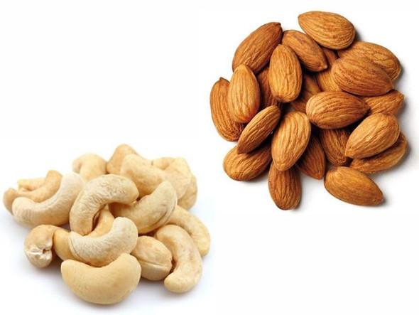 Jalpur Millers Nut Combo Pack - Cashew Nut 1kg - Almonds 1kg - (2 Pack)