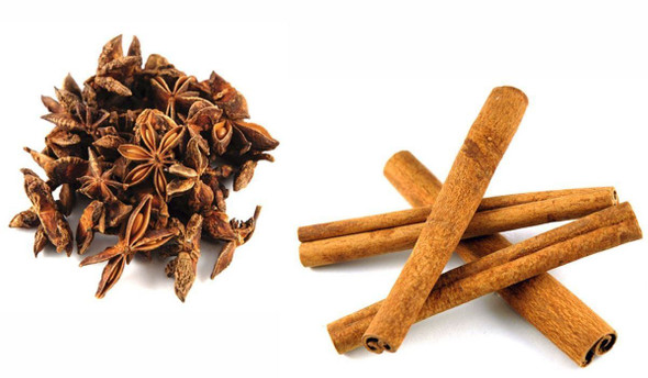 Jalpur Millers Spice Combo Pack - Cinnamon Quills 100g - Star Anise 100g (2 Pack)