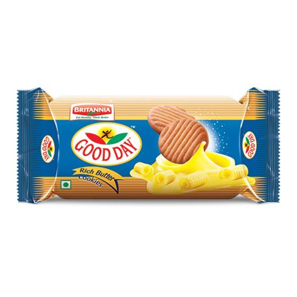 Britannia - Butter Cookies - 90g (Pack of 12)