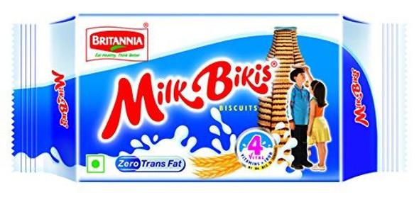 Britannia - Milk Biscuits - 100g (Pack of 10)