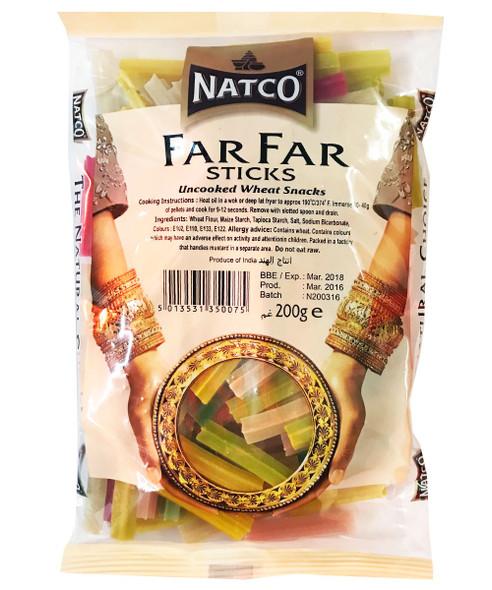 Natco - Far Far Sticks (Uncooked Wheat Snacks) - 200g