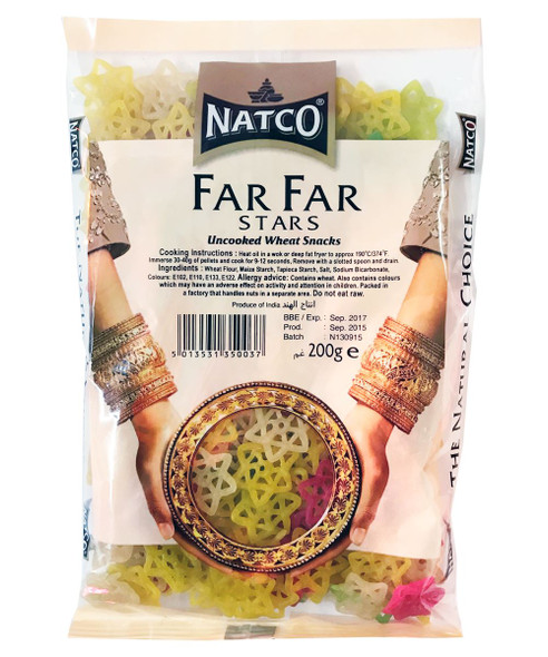Natco - Far Far Stars (Uncooked Wheat Snacks) - 200g
