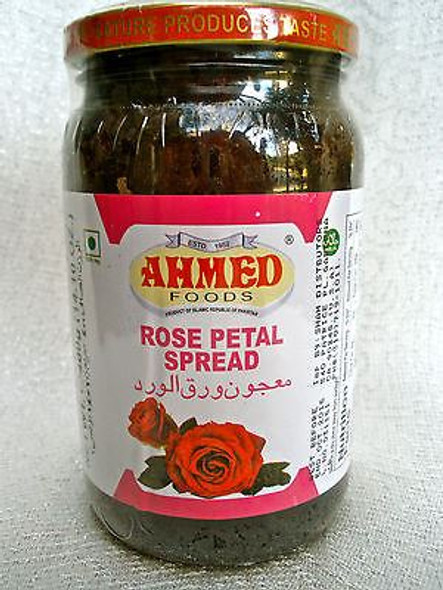 Ahmed Foods - Rose Petal Spread (Gulkand) - 400g (Pack of 2)