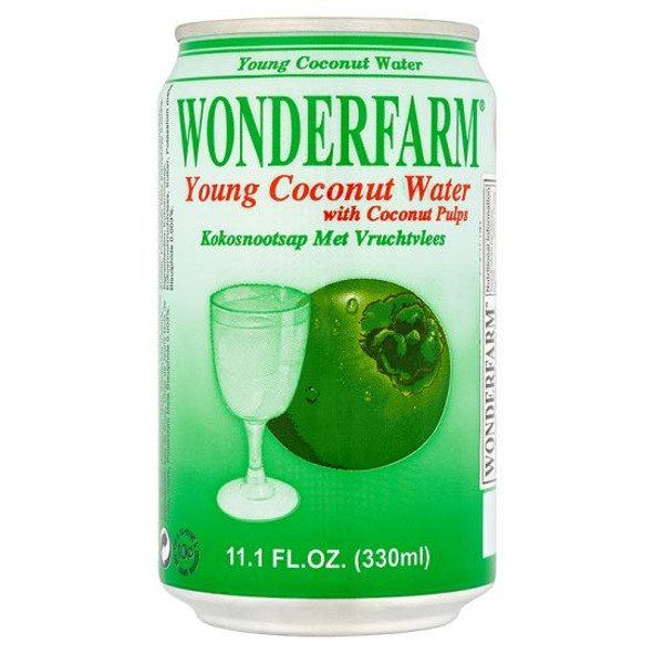Wonderfarm - Young Coconut Water - 330ml (Pack of 12)