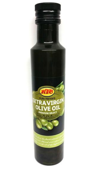 KTC - Pure Pressed Extra Virgin Olive Oil - 1Ltr (Pack of 2)