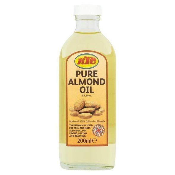 KTC - Almond Oil - 200ml (Pack of 2)