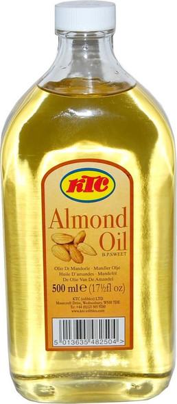 KTC - Almond Oil - 500ml (Pack of 2)