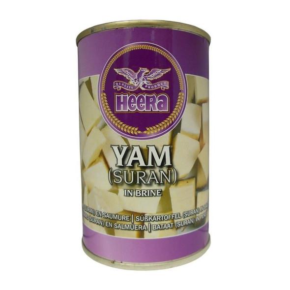 Heera - Yam in Brine (Suran) - 400g (Pack of 4)