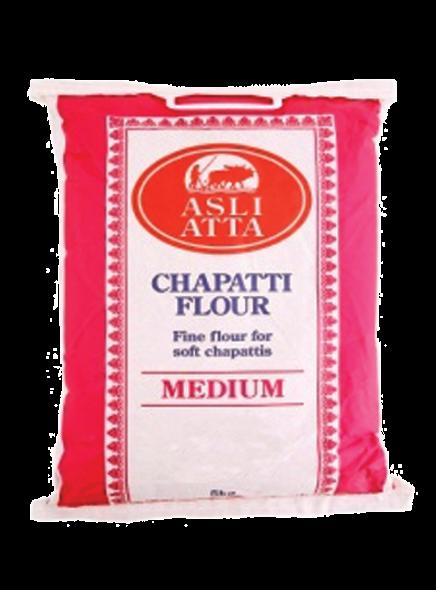 Asli Atta - Medium Chapatti Flour - 5kg