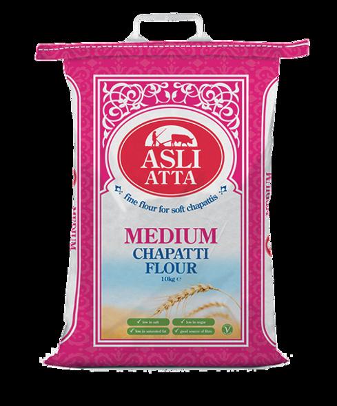 Asli Atta - Medium Chapatti Flour - 10kg