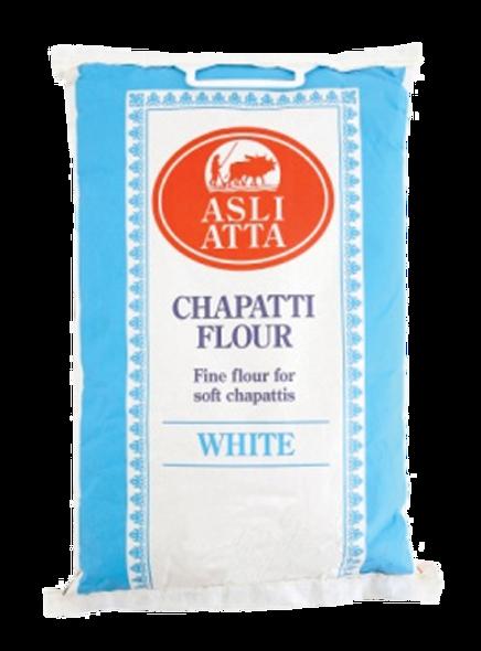 Asli Atta - White Chapatti Flour - 5kg