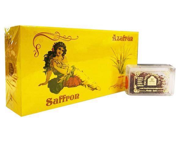 Pure Spanish Saffron (Azafran) - 1g (Pack of 12)