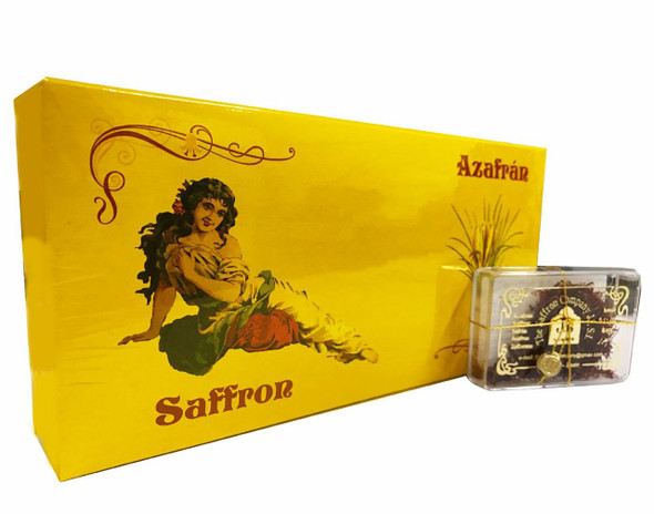 Pure Spanish Saffron (Azafran) - 2g (Pack of 12)