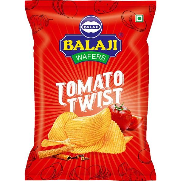 Balaji Tomato Twist (tomato potato wafer) - 135g