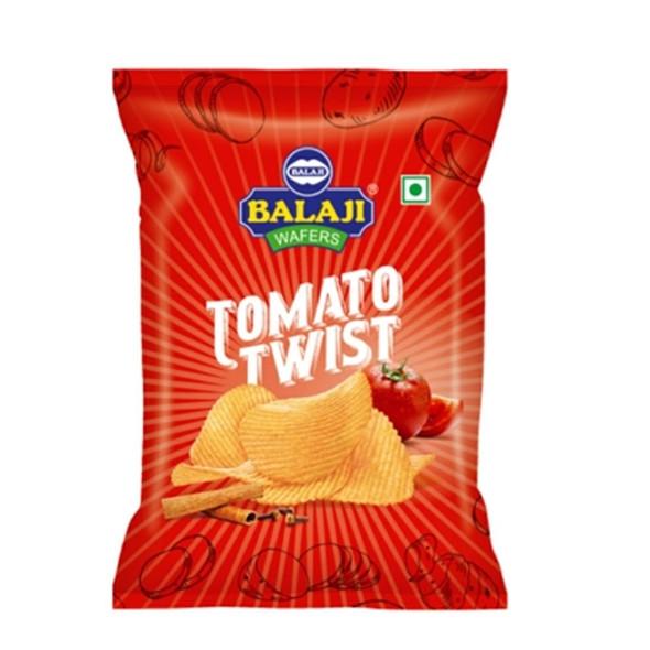 Balaji Tomato Twist (tomato potato wafer) - 40g
