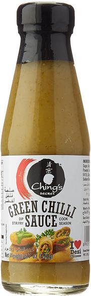Chings Green Chilli Sauce - 190g