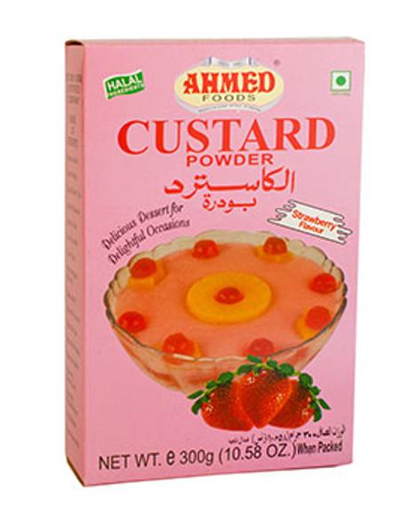 Ahmed Foods Custard Powder (strawberry flavour) - 300g
