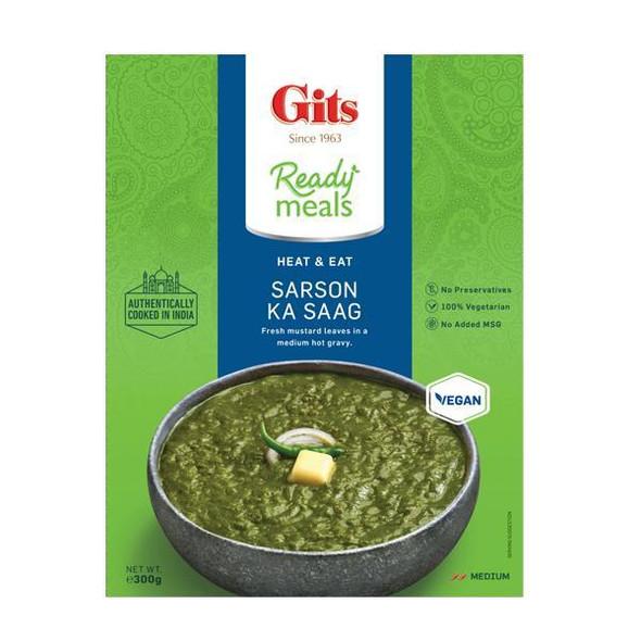 Gits Sarso Ka Saag - (fresh mustard leaves in a medium hot gravy) - 300g