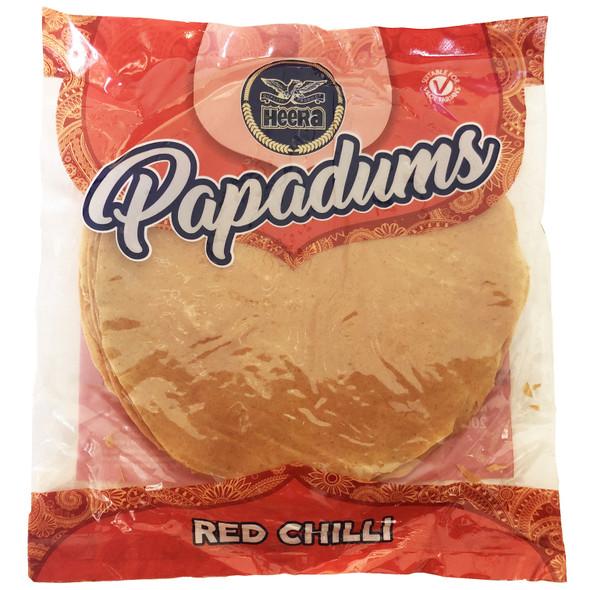 Heera Red Chilli Papapdums - 200g