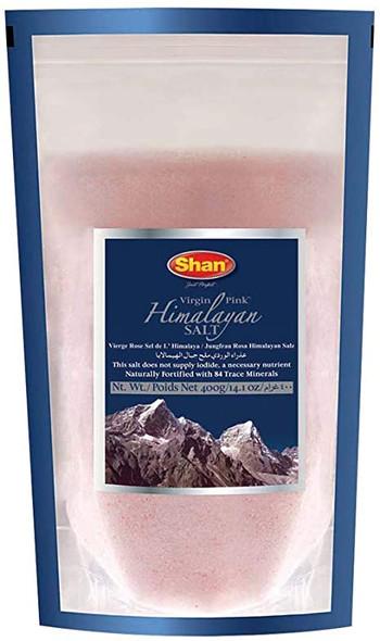 Shan Virgin Pink Himalayan Pink Salt - 400g
