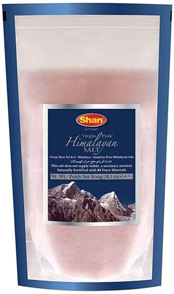 Shan Virgin Pink Himalayan Pink Salt - 800g