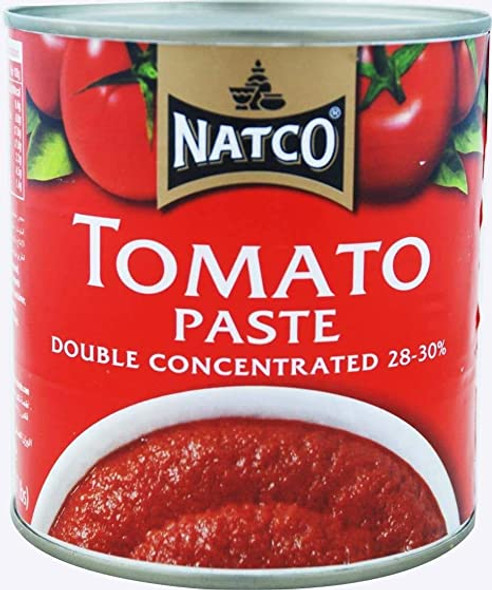 Natco Tomato Paste (double concentrated 28-30%) - 800g