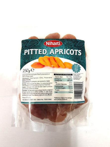 Niharti Pitted Apricots - 250g