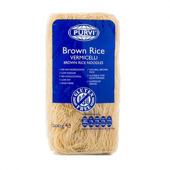 Purvi Brown Rice Vermicelli Noodles (gluten free) - 200g