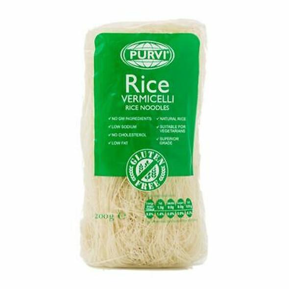 Purvi Rice Vermicelli Noodles (gluten free) - 400g