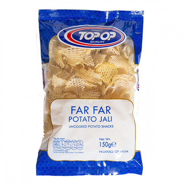 Top-Op Far Far Potato Jali (un-fried potato snack) - 150g