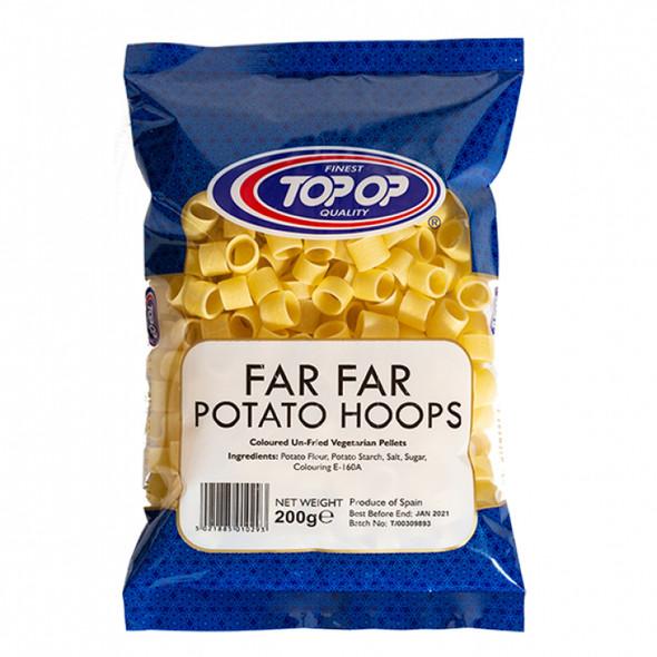 Top-Op Potato Hoops (coloured un-fried vegetarian pellets) - 200g