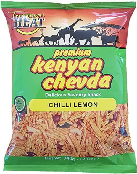 Tropical heat Kenyan chevda - Chilli lemon - 340g
