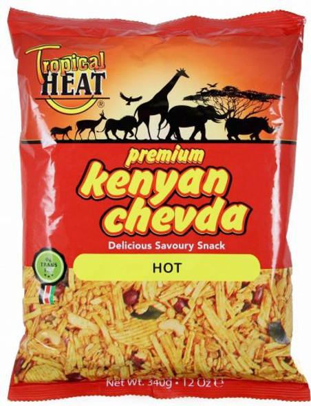 Tropical heat Kenyan chevda - hot - 340g