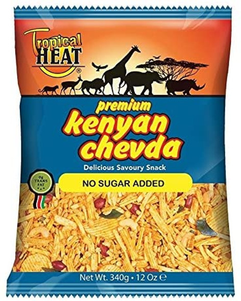 Tropical heat Kenyan chevda - No sugar added - 340g
