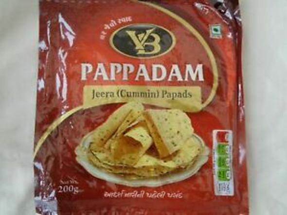 VB Jeera (cummin) - Pappadam - 200g